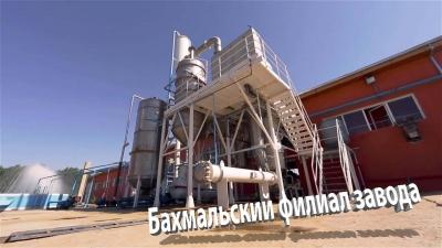 Завод «Комбинат Ташкентвино» в Джизакской области: